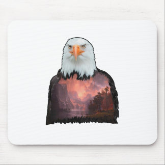 Seal of the Brave Mouse Pad