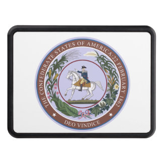 Seal of the Confederacy Trailer Hitch Cover
