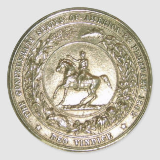 Seal of the Confederate States of America Brass