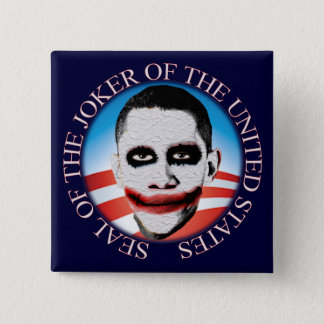 Seal of the Joker of the United States Pinback Button