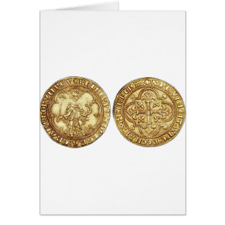 SEAL OF THE KNIGHTS OF TEMPLAR CARDS