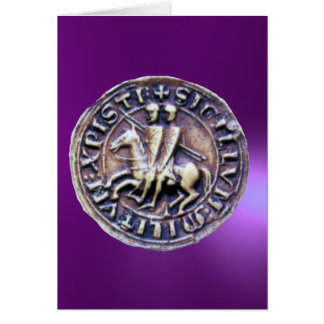 SEAL OF THE KNIGHTS TEMPLAR GREETING CARDS