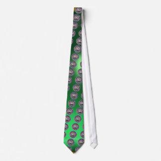 SEAL OF THE KNIGHTS TEMPLAR gem green Neck Tie