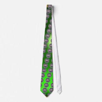 SEAL OF THE KNIGHTS TEMPLAR gem green Tie