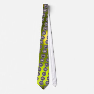 SEAL OF THE KNIGHTS TEMPLAR gem yellow Tie