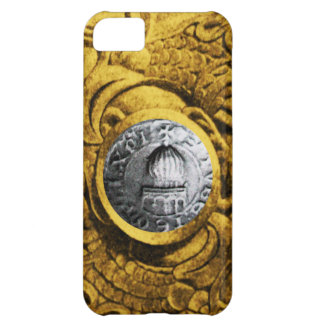 SEAL OF THE KNIGHTS TEMPLAR gold yellow iPhone 5C Case