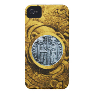 SEAL OF THE KNIGHTS TEMPLAR gold yellow Case-Mate iPhone 4 Case