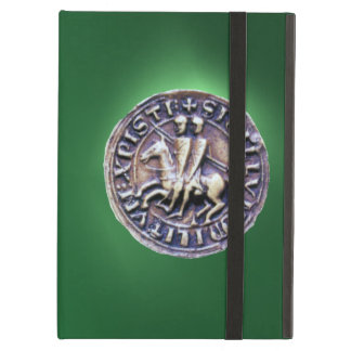 SEAL OF THE KNIGHTS TEMPLAR green Case For iPad Air
