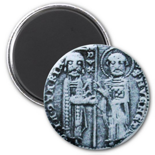 SEAL OF THE KNIGHTS TEMPLAR MAGNET