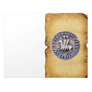 SEAL OF THE KNIGHTS TEMPLAR MEMO NOTEPAD
