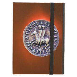 SEAL OF THE KNIGHTS TEMPLAR orange iPad Air Cover