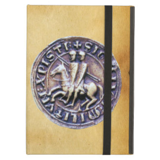SEAL OF THE KNIGHTS TEMPLAR parchment Case For iPad Air