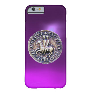 SEAL OF THE KNIGHTS TEMPLAR purple Barely There iPhone 6 Case