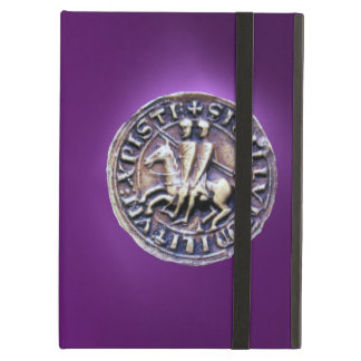 SEAL OF THE KNIGHTS TEMPLAR purple Case For iPad Air