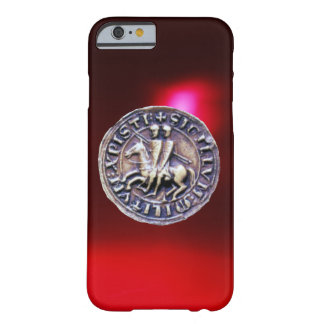 SEAL OF THE KNIGHTS TEMPLAR red burgundy Barely There iPhone 6 Case