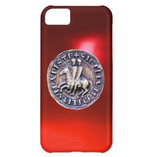 SEAL OF THE KNIGHTS TEMPLAR red iPhone 5C Cases