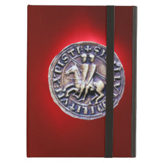 SEAL OF THE KNIGHTS TEMPLAR red iPad Air Covers