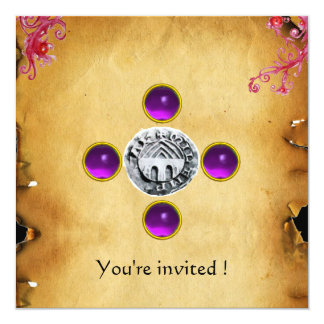 SEAL OF THE KNIGHTS TEMPLAR TAU gem purple Announcement