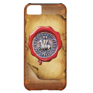 SEAL OF THE KNIGHTS TEMPLAR wax parchment iPhone 5C Cover