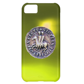 SEAL OF THE KNIGHTS TEMPLAR yellow Case For iPhone 5C