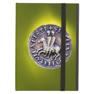 SEAL OF THE KNIGHTS TEMPLAR yellow iPad Air Cover