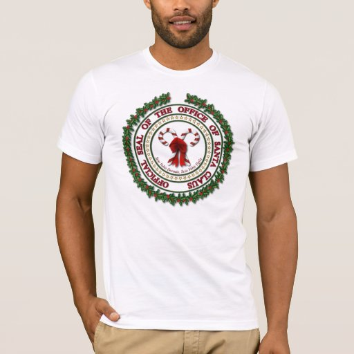 Seal of the Office of Santa Claus - Light Shirts