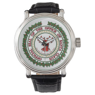 Seal of the Office of Santa Claus Watch