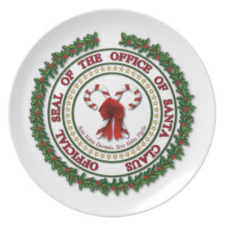 Seal of the Office of Santa Plate