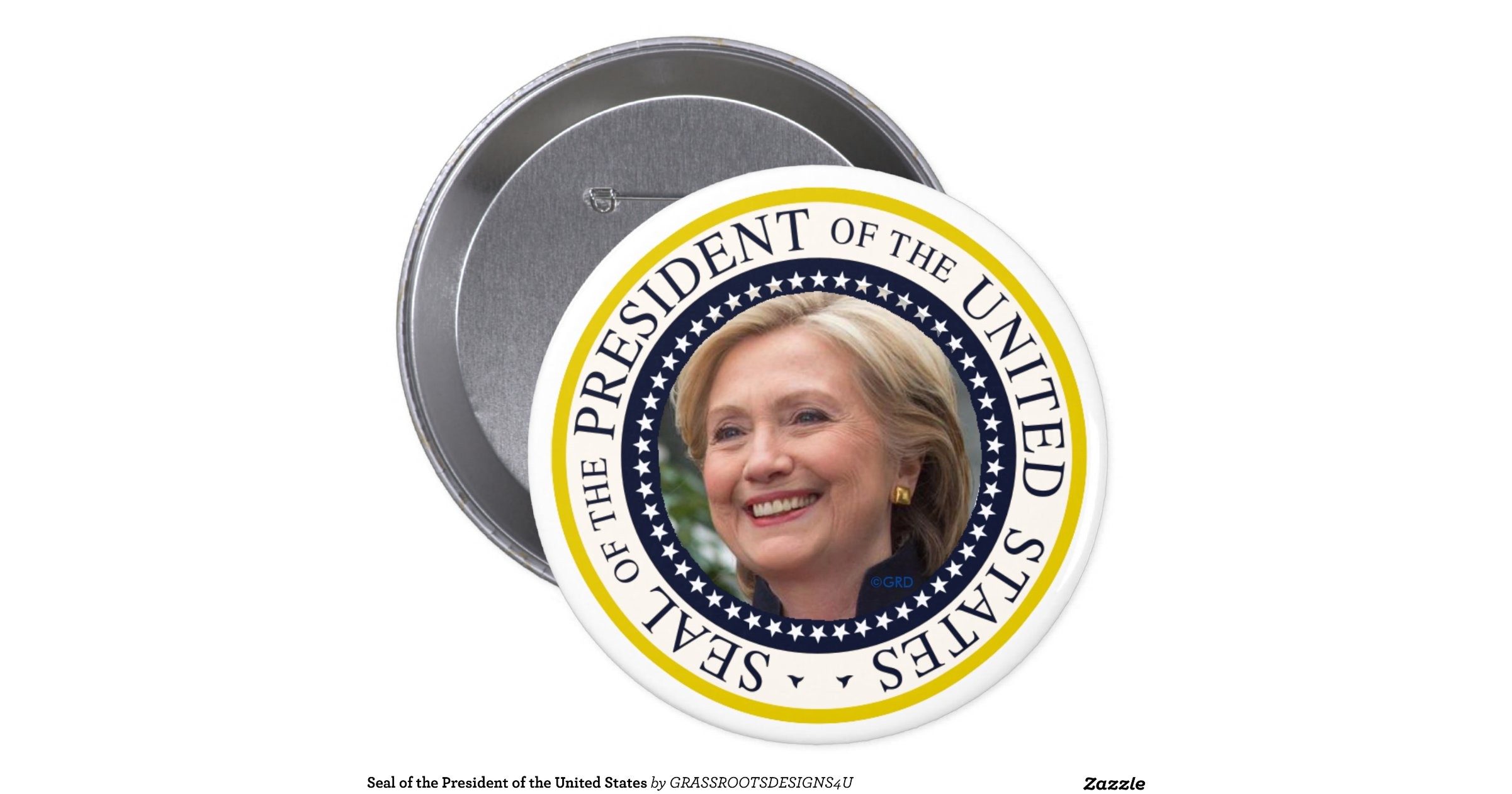 Seal of the president of the united states 4 inch round for Who is the most famous president of the united states