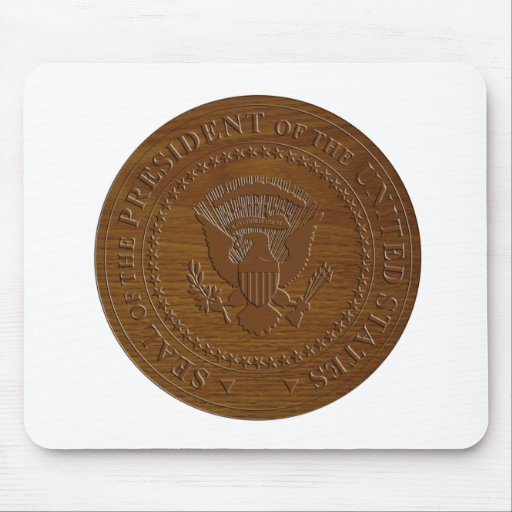 seal of the president of united states of america mousepad