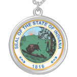 Seal of the State of Indiana Necklace