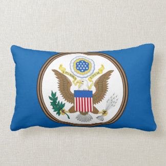 Seal of the United States Lumbar Pillow