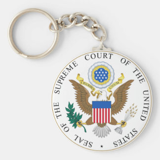 Seal of the United States Supreme Court Keychain