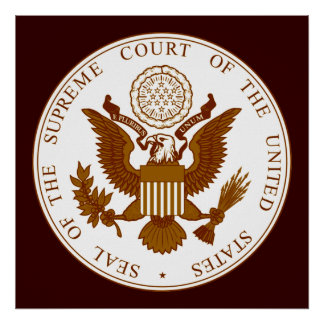 Seal Of The United States Supreme Court Poster
