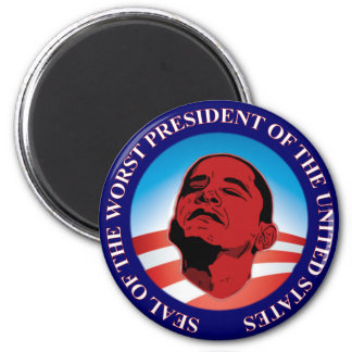 Seal of the Worst 2 Inch Round Magnet