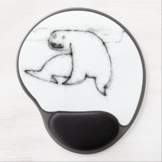 Seal On The Ice Floe Gel Mouse Pad