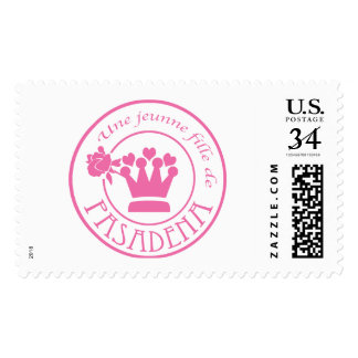 Seal Pink Postage Stamps