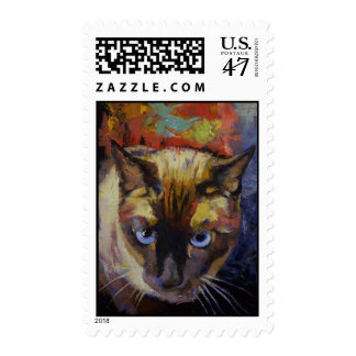Seal Point Siamese Stamp