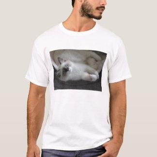 Seal Point & White Siberian Kitty shirt