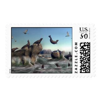 Seal Pt. Postage