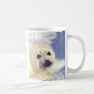 Seal Pup Face Coffee Mug
