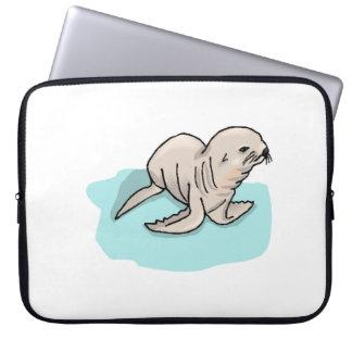 Seal Pup Laptop Computer Sleeve