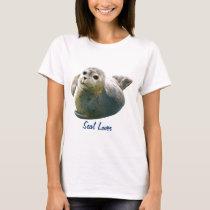 SEAL PUP Seal-Lover Ladies Shirt