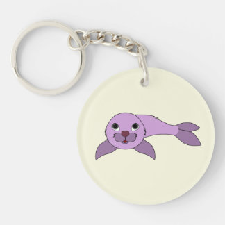 Seal Purple.png Keychain