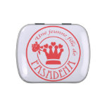 Seal (Red) Jelly Belly Candy Tins