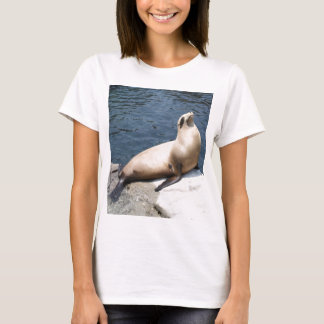 Seal Relaxing On A Rock T-Shirt