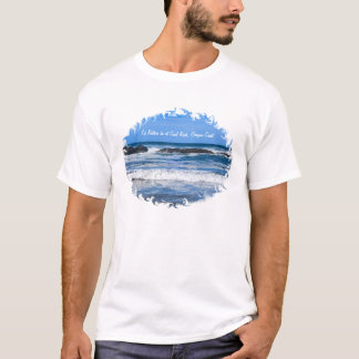 Seal Rock Oregon Coast On Pacific Ocean For Men T-Shirt