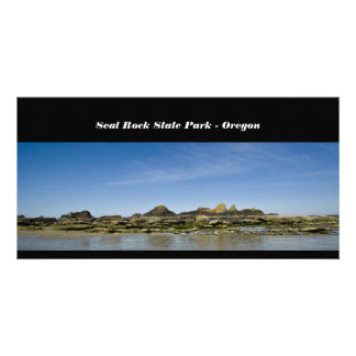 Seal Rock State Park - Oregon Photo Card