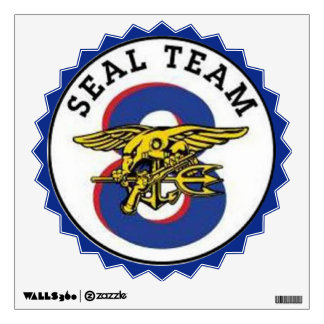 Seal Team 8 Logo Wall Decals