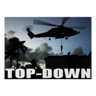 SEAL Team Top-Down Posters
